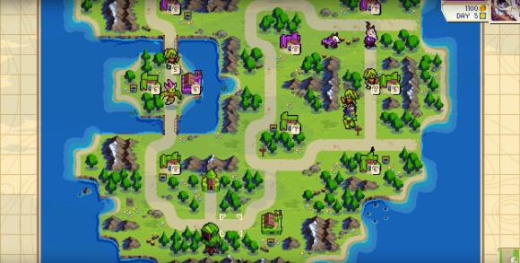 wargroove map