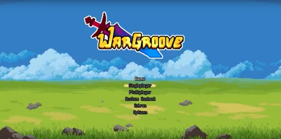wargroove title screen